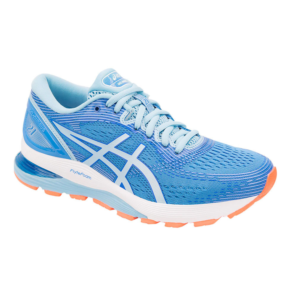 zoo Cava Examinar detenidamente  ASICS Asics GEL-NIMBUS 21 - Zapatillas de running mujer blue coast/skylight  - Private Sport Shop