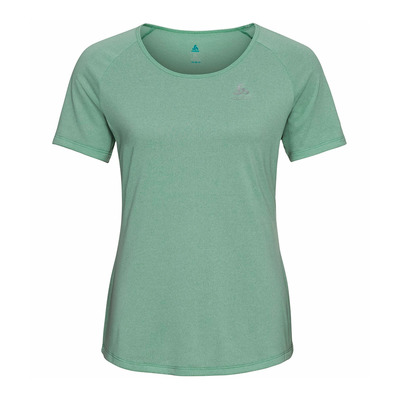 ODLO - MILLENNIUM ELEMENT - Camiseta mujer mint cream melange