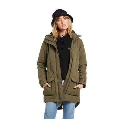 VOLCOM - WALK ON BY 5K - Veste Femme olive