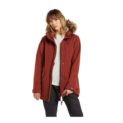 VOLCOM - LESS IS MORE 5K - Chaqueta mujer brick