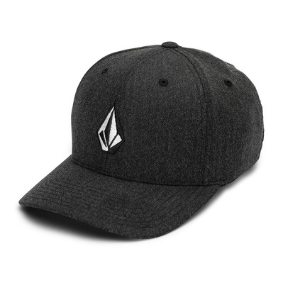 VOLCOM - FULL STONE HTHR XFIT - Casquette Homme charcoal heather
