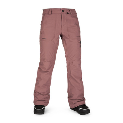VOLCOM - KNOX INS GORE-TEX - Pantalon snow Femme rose wood