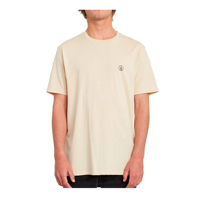 VOLCOM - CIRCLE BLANKS HTH - T-shirt Uomo white flash
