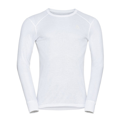 ODLO - BL TOP Crew neck l/s ACTIVE WARM ECO Homme white