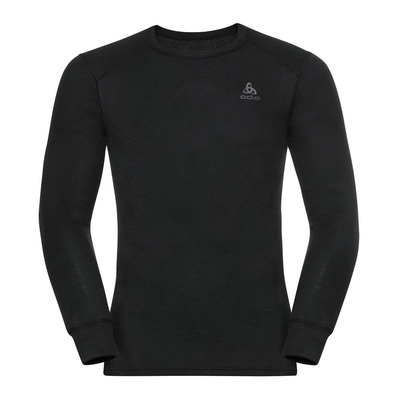 ODLO - BL TOP Crew neck l/s ACTIVE WARM ECO Homme black