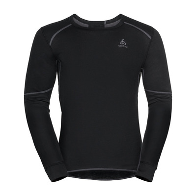 ODLO - BL TOP Crew neck l/s ACTIVE X-WARM ECO Homme black