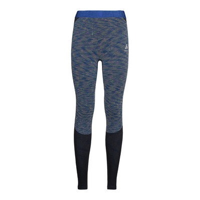 ODLO - BLACKCOMB - Mallas mujer blue tattoo/space dye