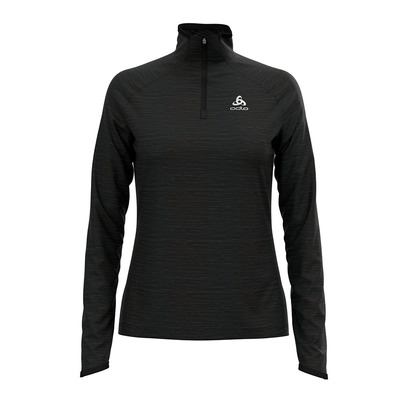 ODLO - MILLENNIUM ELEMENT - Sweat Femme black melange