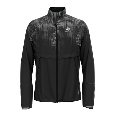 ODLO - ZEROWEIGHT PRO WARM REFLECT - Chaqueta hombre black/reflective graphic fw20