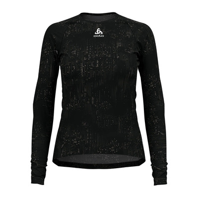 ODLO - ZEROWEIGHT CERAMIWARM - Sous-couche Femme black/graphic fw20