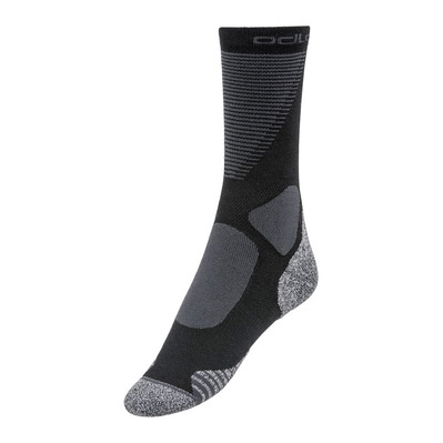 ODLO - ACTIVE WARM XC - Chaussettes black/odlo graphite grey