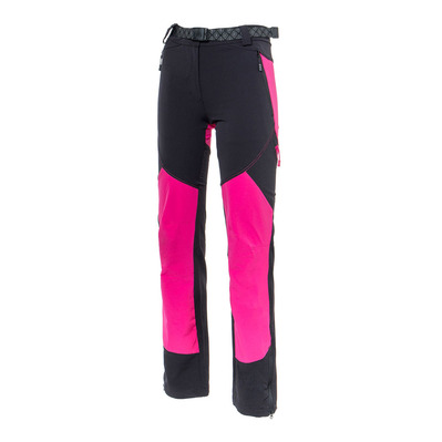 IZAS - BRENDA - Pants - Women's - black/fuchsia