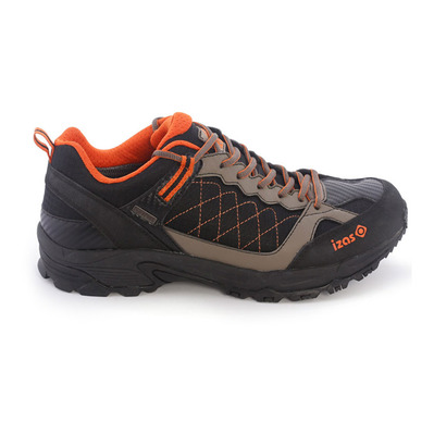 IZAS - LODOSA - Hiking Shoes - Men's - black/orange