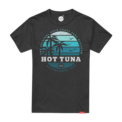HOT TUNA - SUNSET - Tee-shirt Homme mouse grey