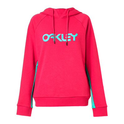 OAKLEY - TNP WOMEN'S DWR FLEECE HOODY Femme RUBINE RED