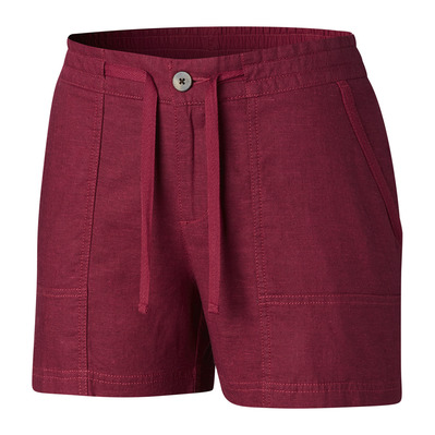 COLUMBIA - SUMMER TIME™ - Short mujer wine berry
