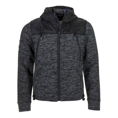 SUPERDRY - MOUNTAIN - Sudadera hombre black granite marl