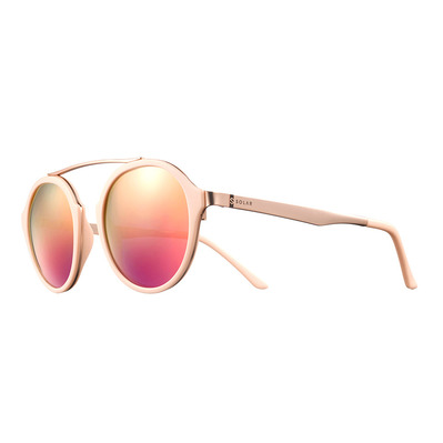 SOLAR - HOWARD - Polarised Sunglasses - brown/grey flash pink gold