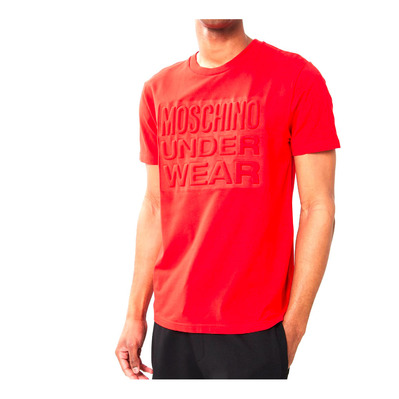 MOSCHINO - 1919_8131 - Tee-shirt Homme rosso