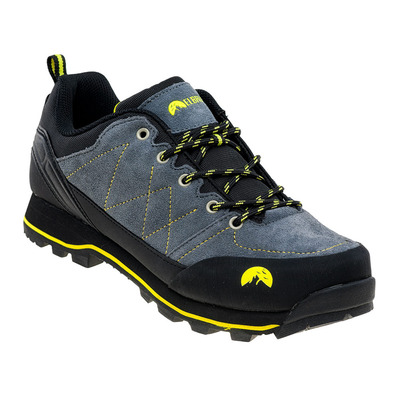 ELBRUS - TILBUR - Shoes - Men's - steel grey/black/lime