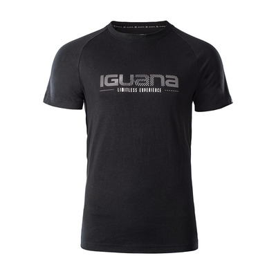 IGUANA - RELAN - T-Shirt - Men's - anthracite / grey