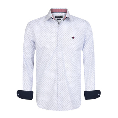 SIR RAYMOND TAILOR - FORGE - Shirt - Men's - printed white