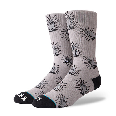 STANCE - FOUNDATION BLESS UP - Chaussettes Homme grey