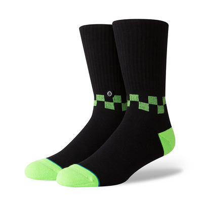 STANCE - ANTHEM CHECKNESS - Chaussettes Homme neon green