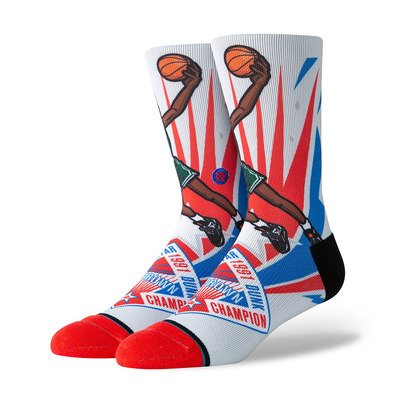 STANCE - NBA ARENA 1991 SLAM DUNK D.BROWN - Chaussettes Homme multi