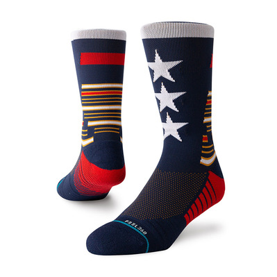 STANCE - TRAINING TRIBUTE CREW - Chaussettes Homme navy