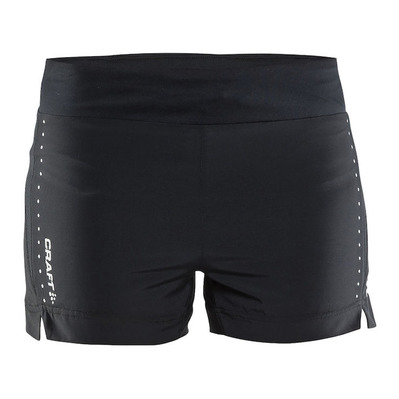 "CRAFT - ESSENTIAL 5"" - Short mujer black"