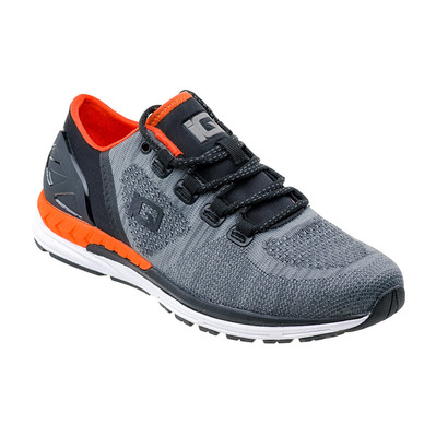 IQ FITNESS - IQ GLANDI - Zapatillas de training hombre grey/black/orange