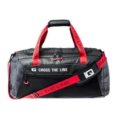 IQ FITNESS - IQ OFELIUS - Sac de sport black/racing red