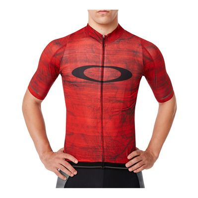 OAKLEY - AERO - Camiseta hombre fired forest p