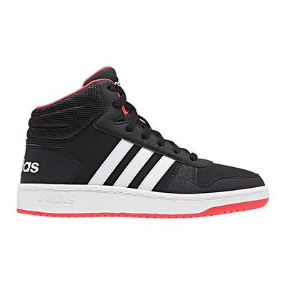 ADIDAS - HOOPS MID 2.0 - Trainers - Junior - black/white/red