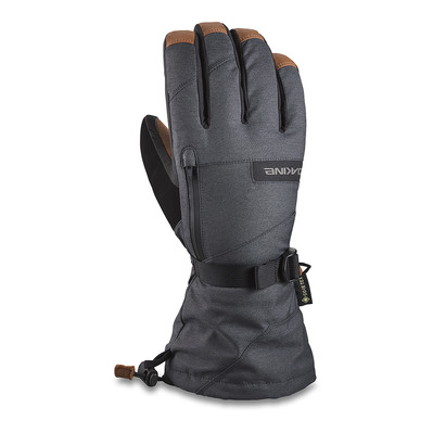 DAKINE - LEATHER TITAN GORE-TEX - Gants Homme carbon