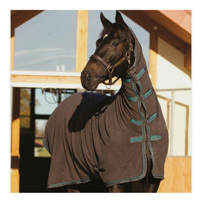 HORSEWARE - AMIGO ALL IN 1 - Manta polar escalibur/gunmetal/aqua