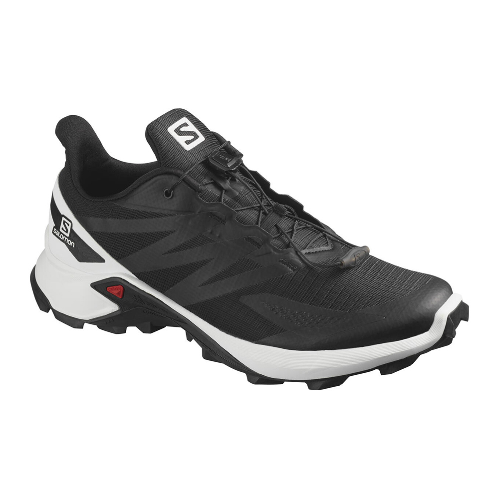SALOMON - Salomon SUPERCROSS BLAST - Chaussures trail Homme black/white/black