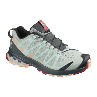 SALOMON - Shoes XA PRO 3D v8 W Aqua Gray/Urban Chi Femme Aqua Gray/Urban Chi