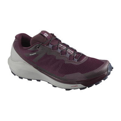 SALOMON - Shoes SENSE RIDE 3 W Winetastin/Alloy/BU Femme Winetastin/Alloy/BU