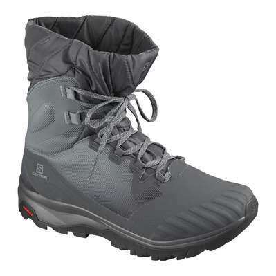 SALOMON - VAYA POWDER TS CSWP - Après-Ski Boots - Women's - ebony/stormy weather