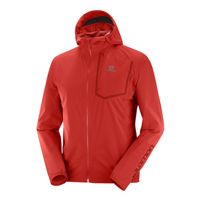 SALOMON - BONATTI PRO WP - Jacket - Men's - goji berry
