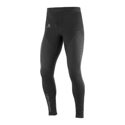SALOMON - EXO MOTION - Leggings - Men's - black