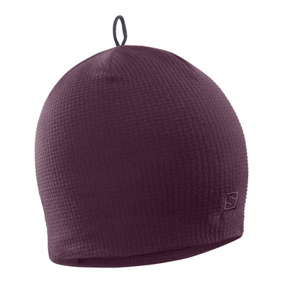 SALOMON - Bonnets RS WARM BEANIE Winetasting/Black Unisexe Winetasting/Black