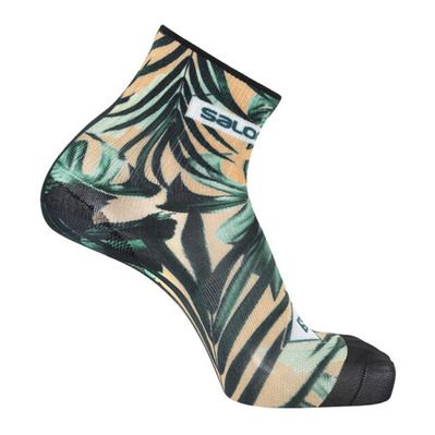 SALOMON - Socks CANVAS CREW AO/Tropical Peach Unisexe Tropical Peach