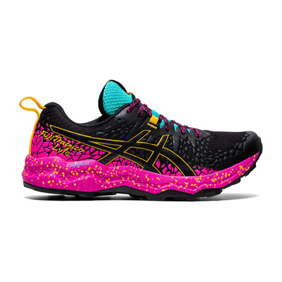 ASICS - FUJITRABUCO LYTE - Chaussures trail Femme black/pink glo