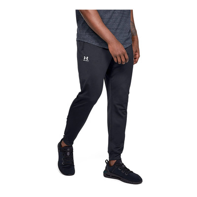 UNDER ARMOUR - SPORTSTYLE TRICOT JOGGER-BLK Homme Black/White