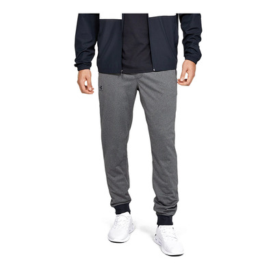 UNDER ARMOUR - SPORTSTYLE - Jogging Homme carbon heather/black