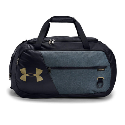 UNDER ARMOUR - UA Undeniable 4.0 Duffle MD-BLK Unisexe Black/Black Medium Heather/Metallic Gold Luster
