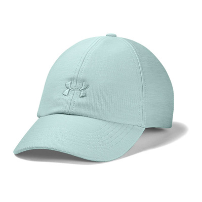 UNDER ARMOUR - HEATHERED PLAY UP - Casquette Femme enamel blue medium heather/enamel blue